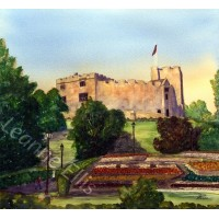 Tamworth Castle, Original Watercolour Painting